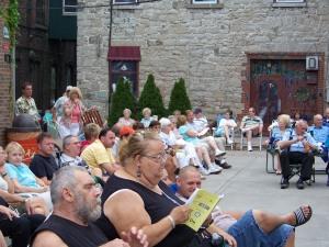 Jackson Square Audience