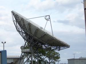 radio dish NASA